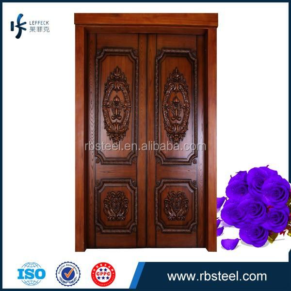 Hotsale Double Leaf Teak Wood Main Entrance Doors Buy Teak Wood
