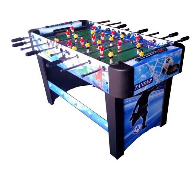 Soccer Game type and 122x61x79cm Size 4 ft football soccer table game