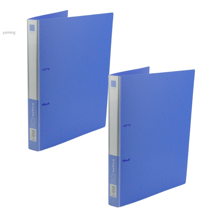 *2013 New 2PCS Blue A4 Ring Binder 2 Ring Presentation