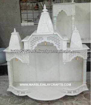 Marble Pooja Mandir - Buy White Marble Mandir For Home,Temple Design ...