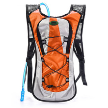 New Outdoor Bicycle Cycling Bike Riding Hiking Running Hydration Knapsack 5L Backpack + 2L Water Bladder Bag