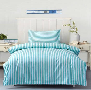 Wholesale Hot Sale 100% Cotton Stripe Cheap Used Draw Beds Sheets Sets Of  Hospitals