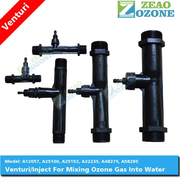 venturi meter ejector for water treatment