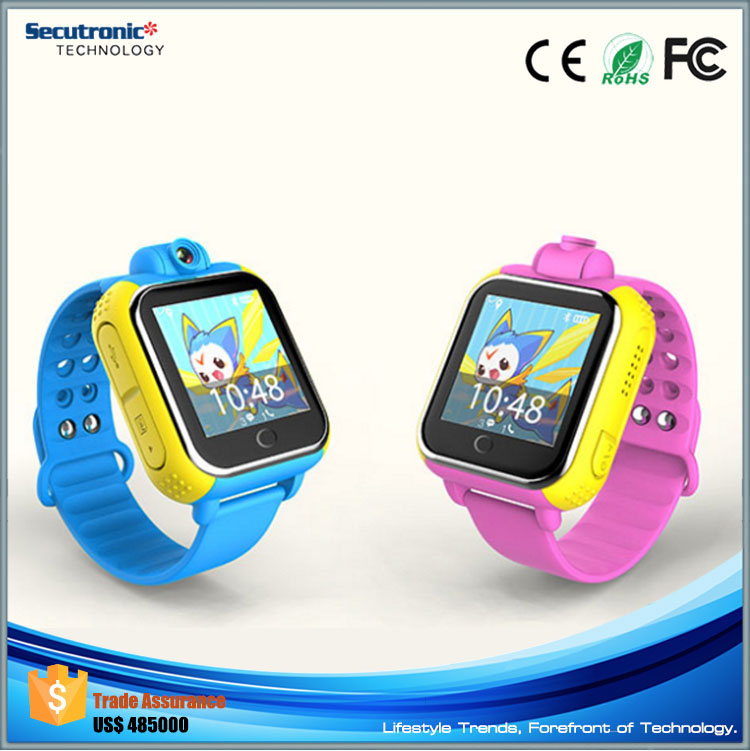 2016 Best Selling Models K8 3G Kid Smart Watch with Dual SIM Video Calling Mobile Phone