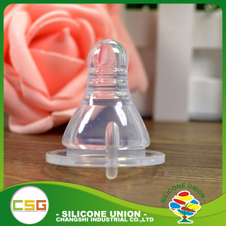 Sedex Factory Baby bottle food grade high quality silicone baby nipple
