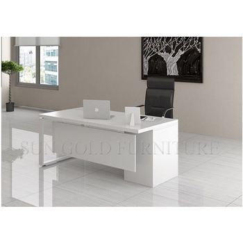 Luxury White Executive Desk Office Table (sz-od151) - Buy Office  Table,Luxury Office Desk,Executive Office Table Product on Alibaba.com