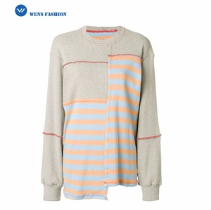 Women's Stripes Loose Designs Sweater Knitted Sweater For Women