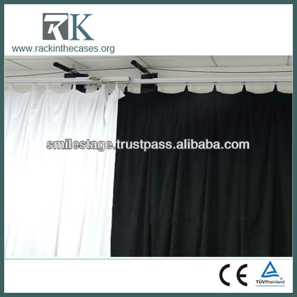 Stage Backdrop Of Multi-function Use Electric Motorized Curtain