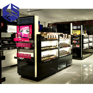 KSL makeup station, cosmetic display stand for makeup store design