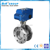 8 Inch CF8 Electric Actuator Butterfly Valve