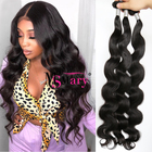 Wholesale Cheap 10A Grade Real Mink Body Wave 100% Virgin Cuticle Aligned 30 Inch Brazilian Hair