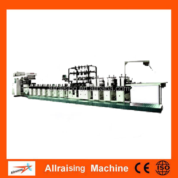 manufacture multi color automatic roll paper flexo printing machine