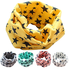 2015 New Stars Children's Cotton Neckerchief Kids Boy Girl Scarves Shawl Unisex Winter Knitting NY79 7DWK