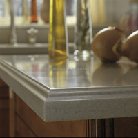 High Quality Flat Edge Engineered Quartz Worktops Price