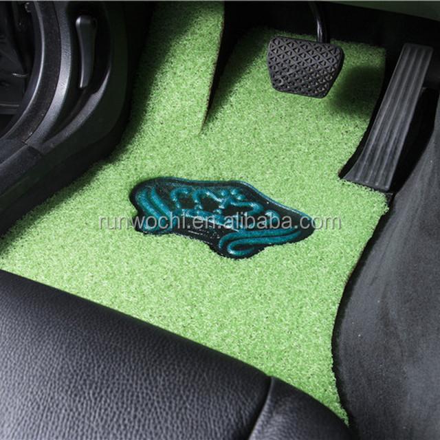green car floor mats. Modren Car PVC Coil Mat Car Floor Double Layered Crystal Elegant Series  Layer Ice Blue With Green Car Floor Mats 0