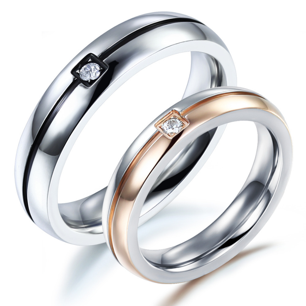 buy free shipping 2015 fashion trendy lovers wedding ring bands