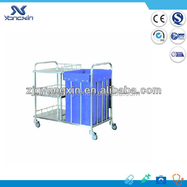 Cheap Price hotel housekeeping maid cart trolley
