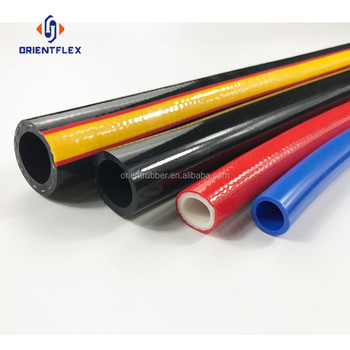 High quality fabric braided non-kinking family gas use cooker pvc air compressor hoses factory