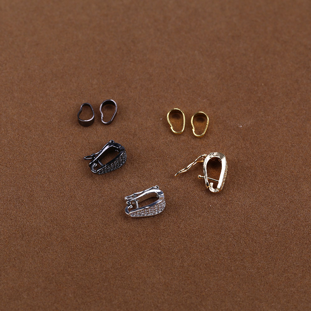 Gold Plated Jewelry Accessories Pendant Components For DIY Jewelry Making
