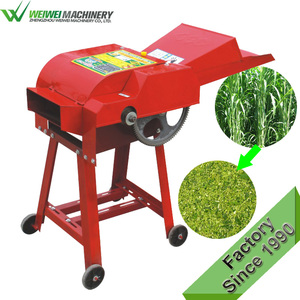 Factory hot selling chaf cutter animal cutting making machine hay cutter chaff cutting feed processing machines for farmers