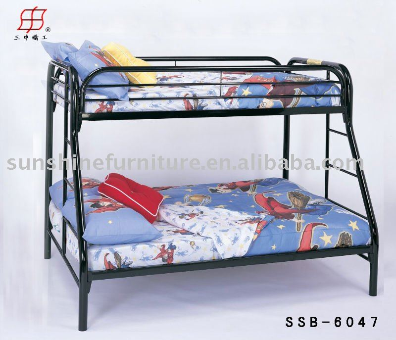 Mordern Steel Double Deck Metal Frame Bunk Bed - Buy Metal Bunk Bed ...