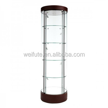 Best Ing Corner Gl Display Showcase Cabinets Commercial With Led Lighting