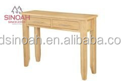 Oak Furniture Wooden Cheap Modern Hallway Console Table