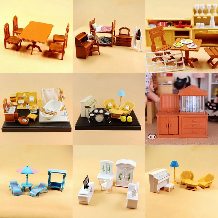 New Arrival Sylvanian Families Miniature Re Ment Dollhouse