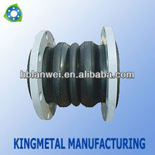 Rubber Expansion Joint/JGD triple sphere flange end