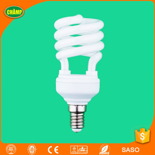Factory supplied E14 t2 spiral lamp energy saving light