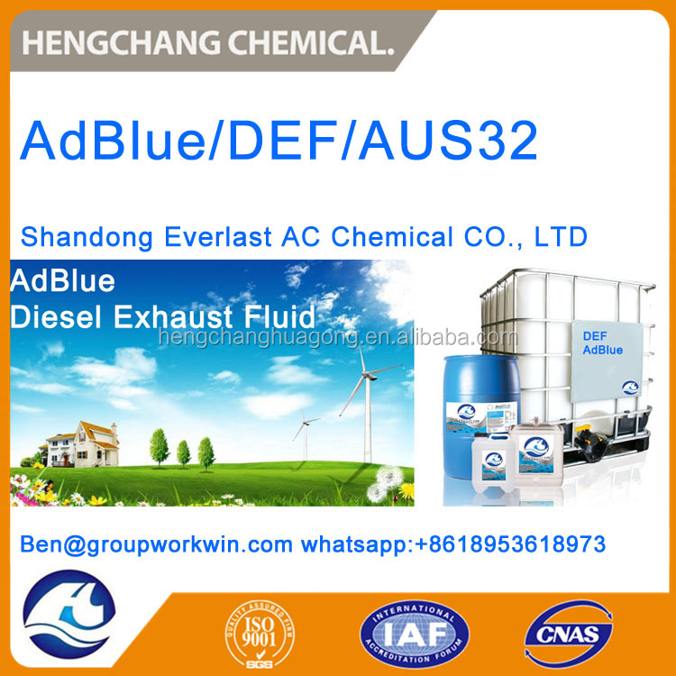 AUS32/Aqueous Urea Solution 32.5% for Diesel Exaust Fluid/AdBlue