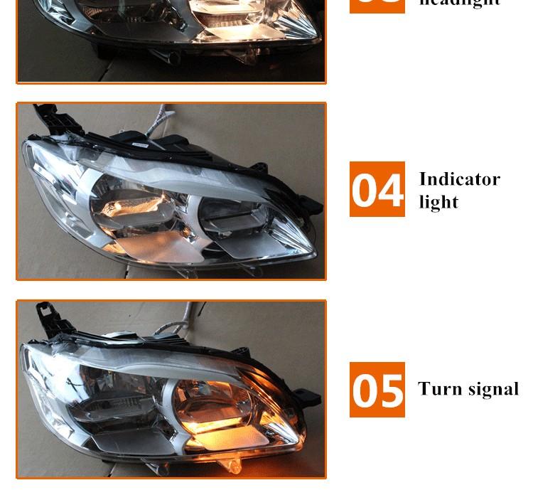 Head Lamp/headlight For Peugeot 301 Hl30-12