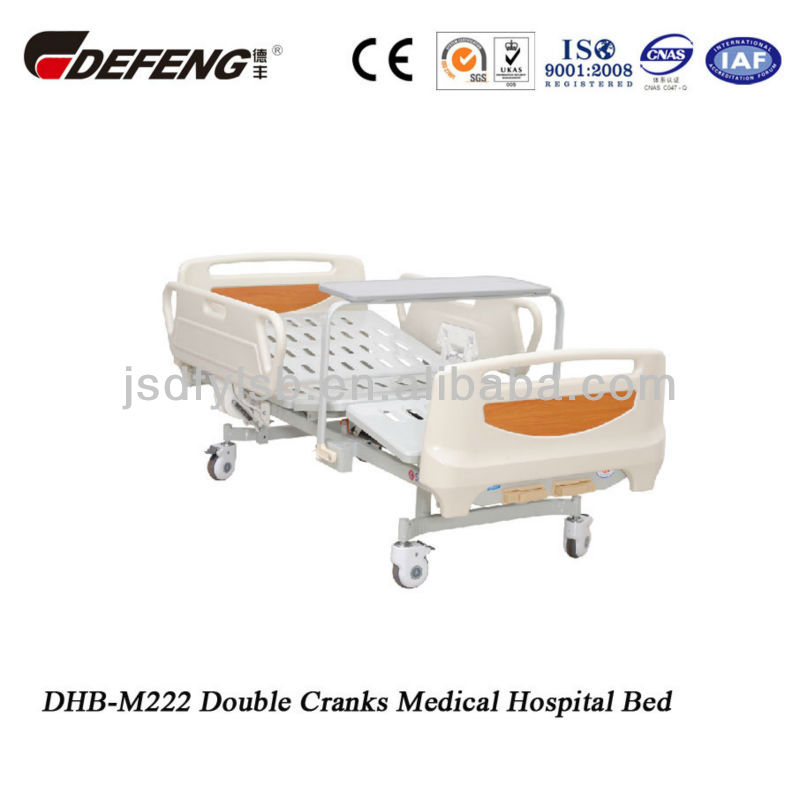 DHB-M222 Double Cranks Medical Hospital Bed