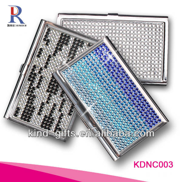 Buy cheap china crystal business card case products find china premier quality crystal rhinestone business card case holder colourmoves
