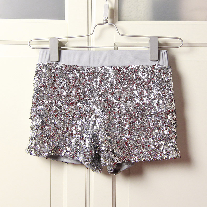 Popular Silver Sequin Shorts-Buy Cheap Silver Sequin ...