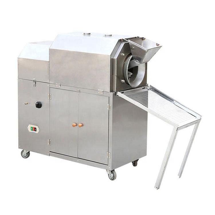 OC-GT-4 Electric Stainless Steel Automatic Dry Almond Groundnut Peanut Red Skin Peeler Peeling Machine