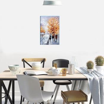 Fait à La Main Moderne Toile Célèbre Paysage Peinture Murale à L Huile Modèle Pour La Décoration Buy Modèle De Peinture Murale à L Huile De Paysage