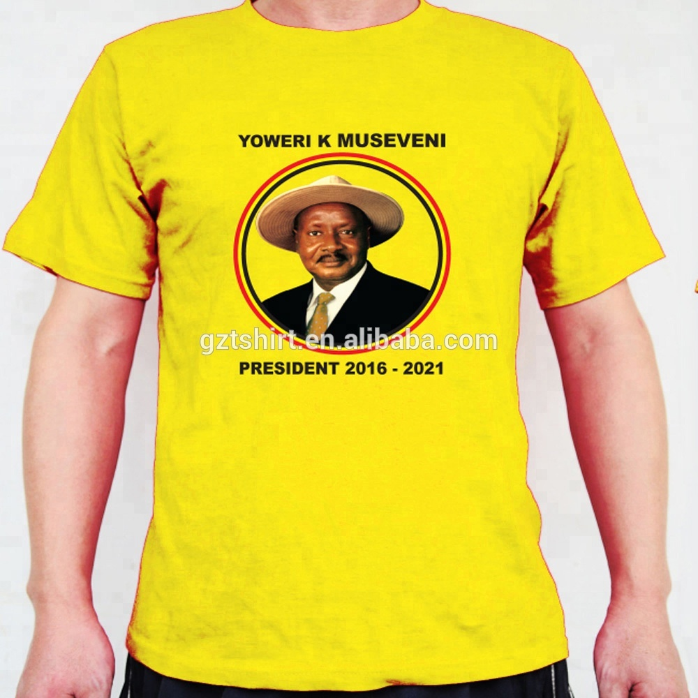Election    O-Neck  t shirt With Full Color Printing  OEM &ODM
