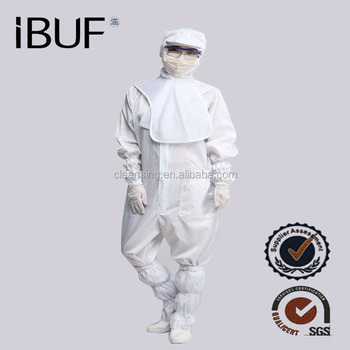 Chemical Safety Surgical Gown Hospital ESD Cleanroom clothing