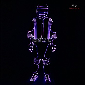 High Quality Led Dancing Suits Light Up Led Suit For Stage Dancer ...