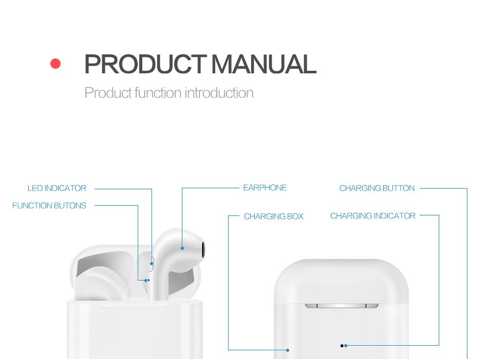 latest technology products i10 tws wireless earphones in earbuds earphone &  headphone i9s tws, View latest technology products, OEM Product Details