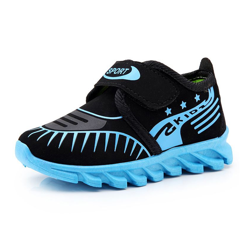 2016 Spring new shoes spell color shoes casual wear rubber soled sports shoes children