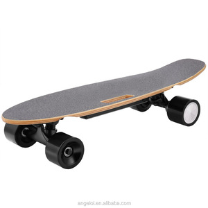 Cheap maple wood fish board mini cruiser electric skateboard