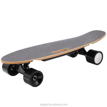 Maple Wood Fish Board Mini Cruiser Electric Skateboard