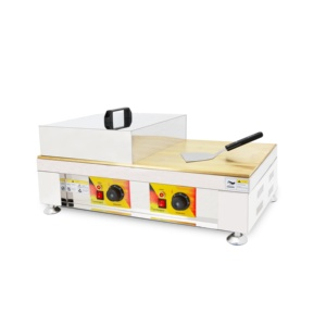 electric griddle factory direct sales commercial Souffle Griddle machine with CE