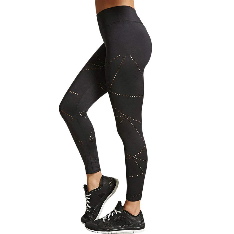 KEBINAI Athletic-leggings Kebinai Black Leggings for Fitness Autumn Polyester Pants Women Push up Legging Women