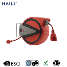 250V wall mounted automatic extension electric retractable cable reel