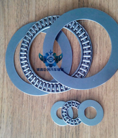 NTA-613 Needle Roller and Cage Thrust Assembly, Open, Steel Cag bearing