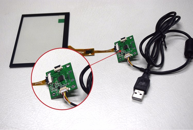 Lcd Waterdichte Raspberry Pi Doorschijnende Folie Inch Touch Screen