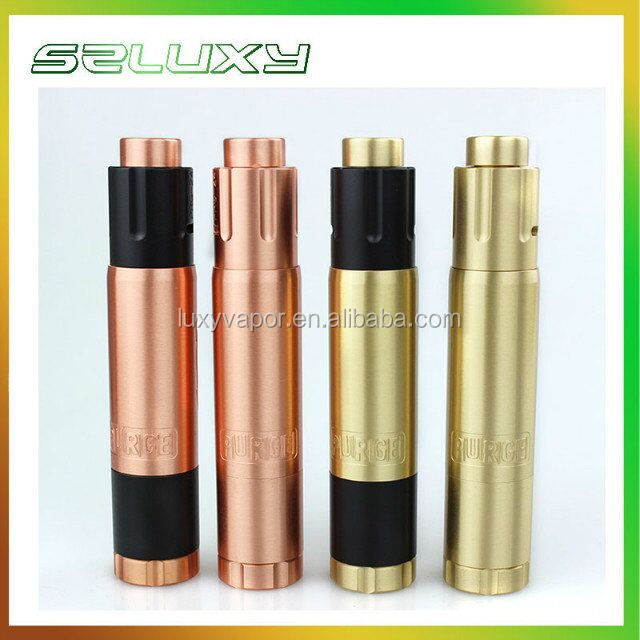 2017 Luxyvapor hottest products!!! Copper/brass purge mod / vgod mod with cheap price